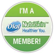 I'm a dial nutriskin member!
